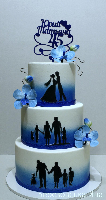 Торт чугунная свадьба фото